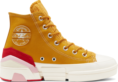 Converse CPX70 High Top voor dames Saffron Yellow/University Red 568689C