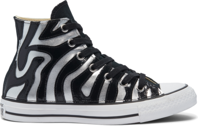 Converse Metallic Zebra Chuck Taylor All Star High Top Zebra Metal 169130C