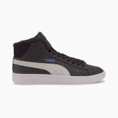 Puma Smash V2 Mid Fur sportschoenen Wit / Zwart 366895_08