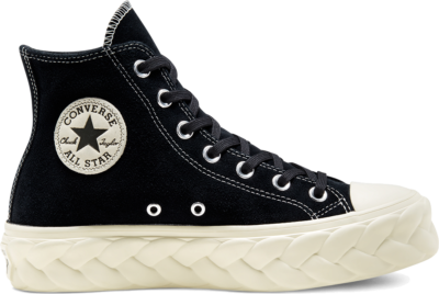 Converse Chuck Taylor All Star Lift Cable High Top voor dames Black 568687C