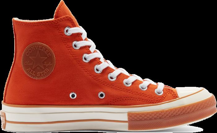 Converse Pop Toe Chuck 70 Campfire Orange/Natural Ivory 169057C