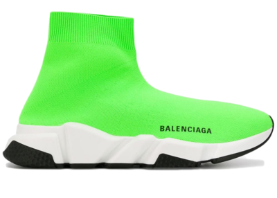Balenciaga Speed Trainer Green Black Sole (W) 525712 W05G0 3901