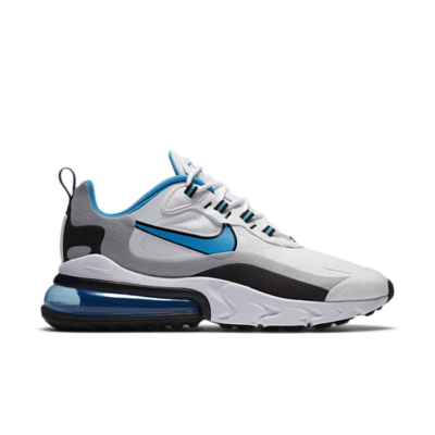 Nike Air Max 270 React White Black University Blue CT1280-101
