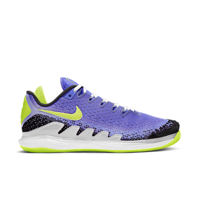 NikeCourt Air Zoom Vapor X Knit Hardcourt Blauw AR8835-500