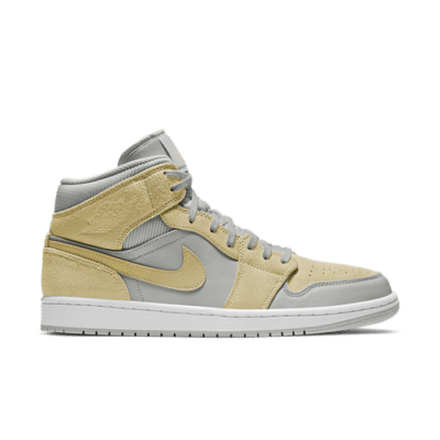 Jordan 1 Mid Mixed Textures Yellow DA4666-001