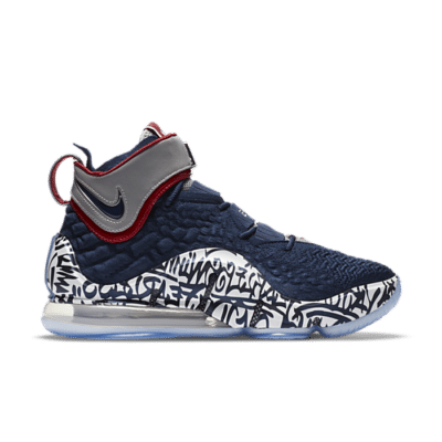 "Nike LeBron 17 Graffiti ""Cold Blue"" CT6047-400"