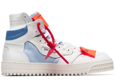 OFF-WHITE High Top White Blue (W) OWIA112S198000160106