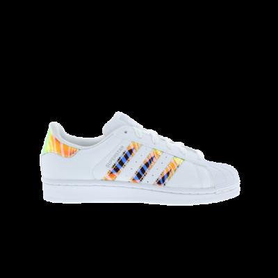 adidas Superstar Zebra Iridescent White AC7053