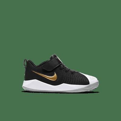 Nike Team Hustle Quick 2 Zwart AT5299-010