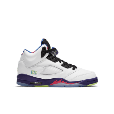Air Jordan 5 'Ghost Green' White/Court Purple/Racer Pink/Ghost Green DB3024-100