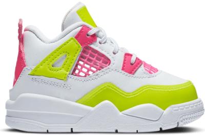 Jordan 4 Retro White Lemon Pink (TD) CV7807-100