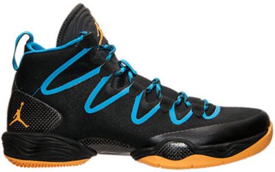 Jordan XX8 SE Black Atomic Mango Dark Powder Blue 616345-036