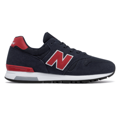 Herren New Balance 565 80s Running Navy/Red/Grey