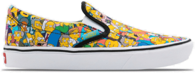 "Vans Simpsons UA ComfyCush Slip-On ""Springfield"" VN0A3WMD1TJ1"