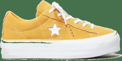 Converse One Star Platform  oranje 563487C
