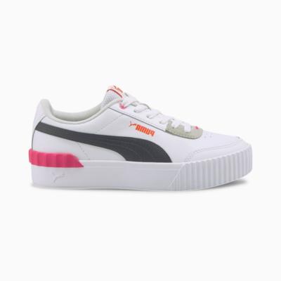 Puma Carina Lift sportschoenen voor Dames Zwart / Roze 373031_08