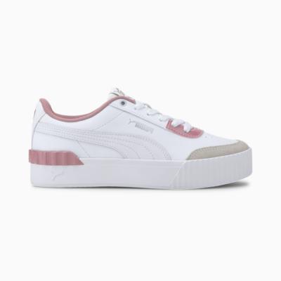 Puma Carina Lift Pearl sportschoenen voor Dames Wit 374141_01