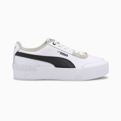 Puma Carina Lift sportschoenen voor Dames Wit / Zwart 373031_02