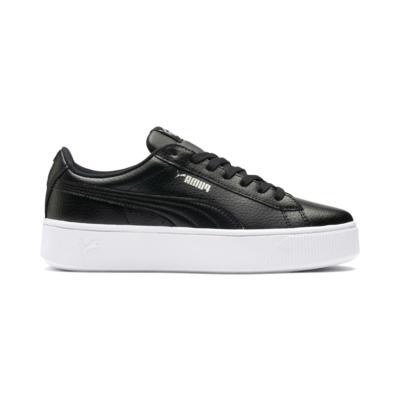 Puma Vikky Stacked sneakers voor Dames Zwart 369143_01