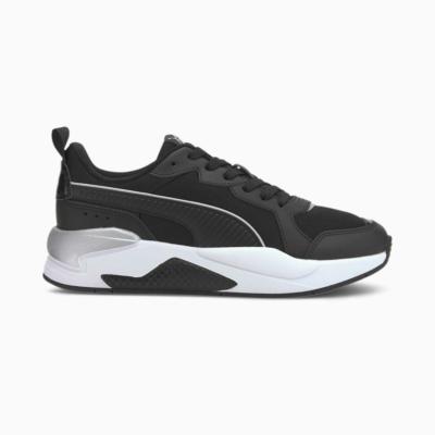 Puma X-Ray Patent sportschoenen voor Dames Zilver / Zwart 368576_01