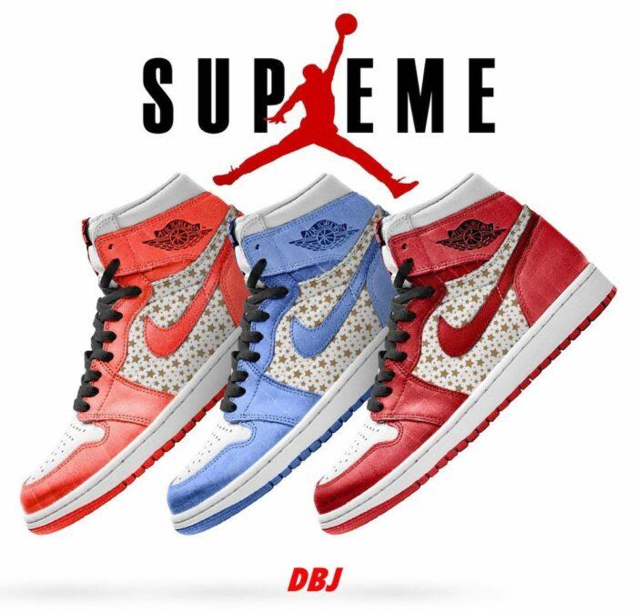 Air Jordan 1 supreme collab
