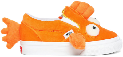 Vans Slip-on The Simpsons Fish Blinky Velcro Orange VN0A4VJV16W