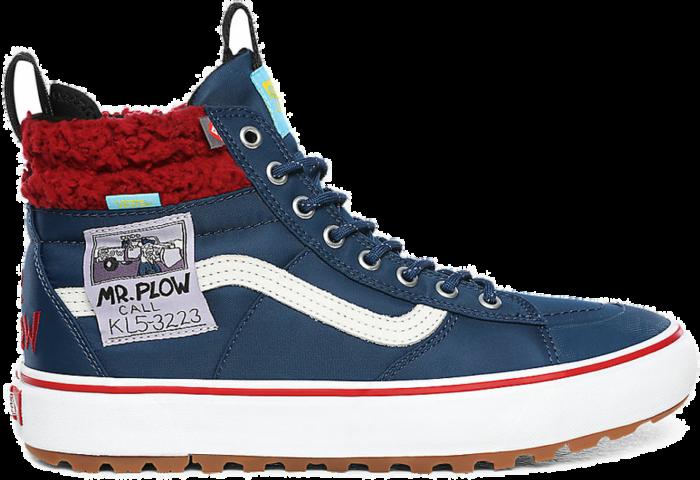 VANS The Simpsons X Vans Mr. Plow Sk8-hi Mte 2.0 Dx  VN0A4P3I23V