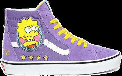 "Vans Simpsons UA SK8-Hi ""LISA 4 PREZ"" VN0A4BV617G1"