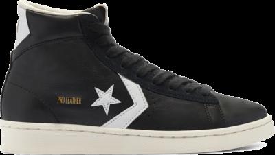 Converse Unisex Pro Leather Mid Black/ White 169261C