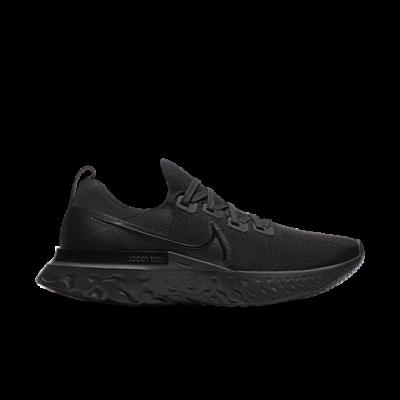 Nike React Infinity Run Flyknit Triple Black CD4371-011
