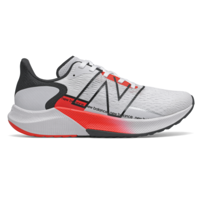 Damen New Balance FuelCell Propel v2 White/Neo Flame