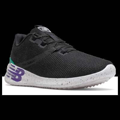 Damen New Balance District Run Black/Prism Purple/Verdite