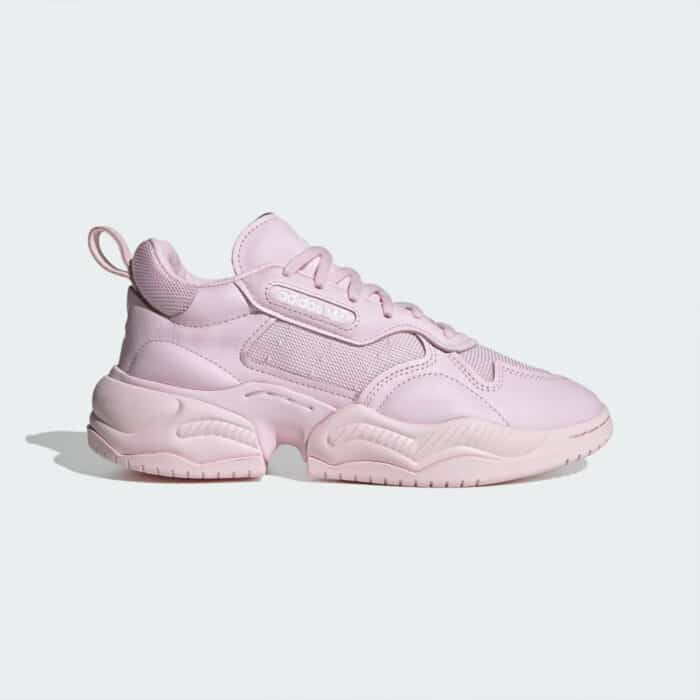 supercours Adidas clear pink roze