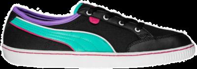 PUMA Svila Canvas Dames Low Sneaker 354607-05 zwart 354607-05