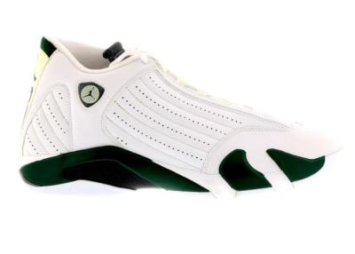 Jordan 14 Retro White Forest Green 311832-131