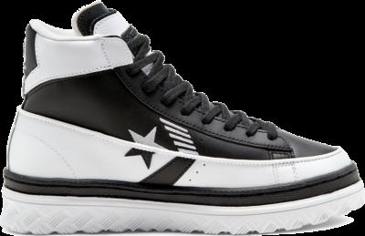 Converse Unisex Rivals Pro Leather X2 High Top White/ Black 168694C