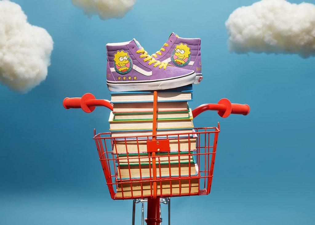 Spring in het veld met de nieuwe Vans x Simpsons collectie