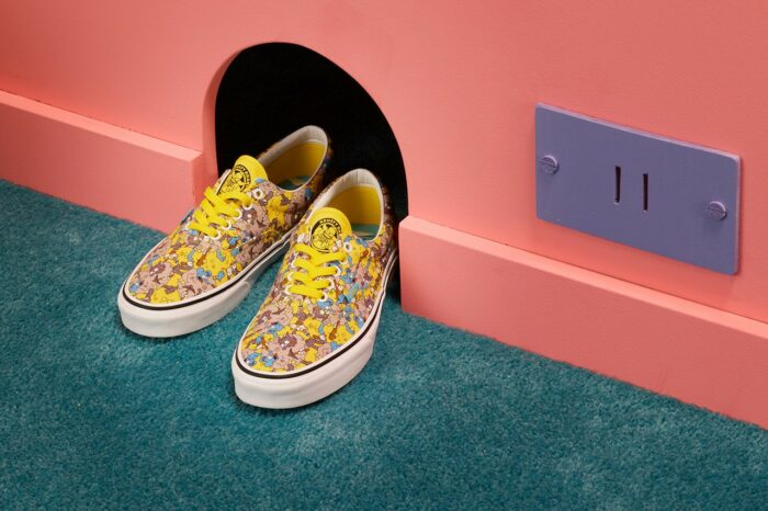 skate shoe vans simpsons sneaker