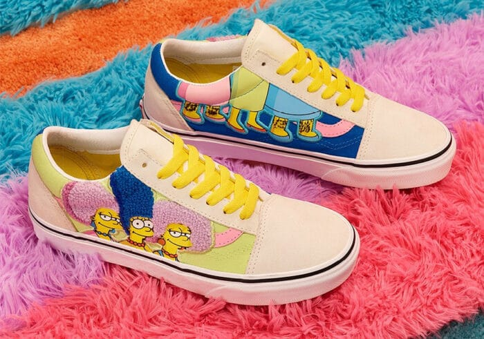 vans simpsons shoes