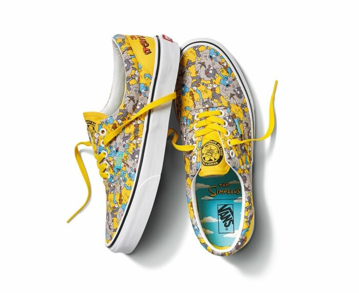 simpsons vans shoes