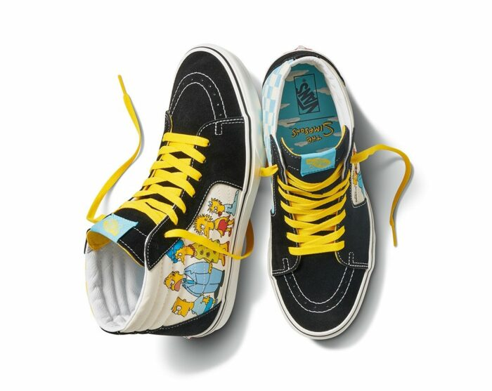 simpsons Springfield shoe