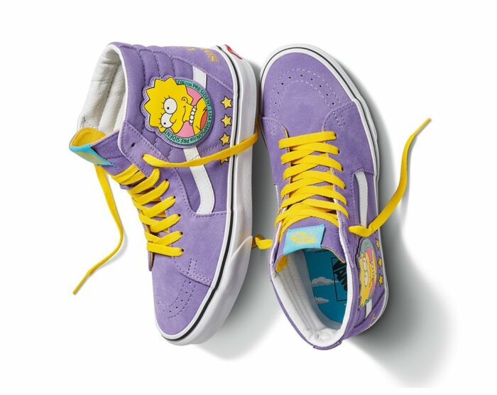 simpsons kicks vans