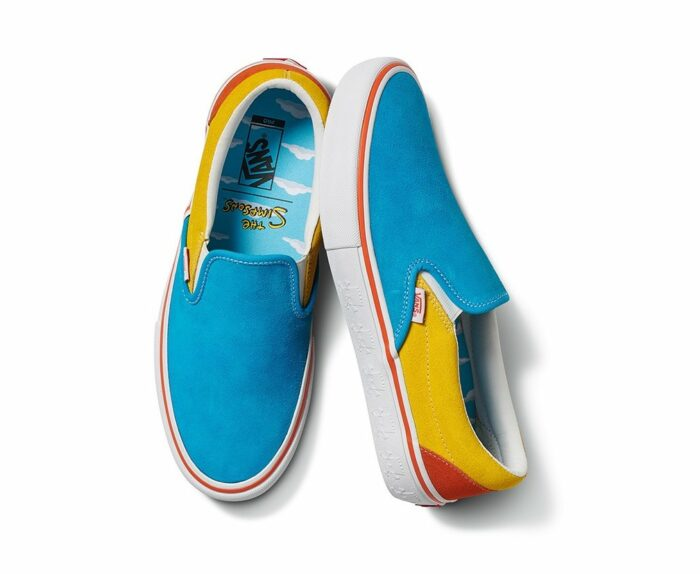 vans vans collaboration with the simpsons