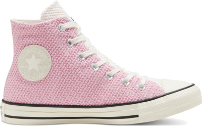 Converse Womens Runway Cable Chuck Taylor All Star High Top Cape Blue/Lotus Pink/Egret 568664C