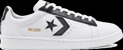 Converse Unisex Rivals Pro Leather Low Top White/ Black 168619C