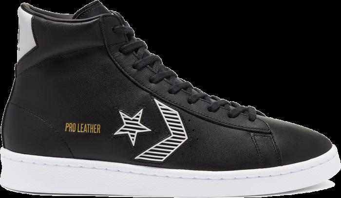 Rivals Pro Leather Mid zwart/wit/wit 168617C