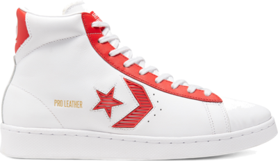 Converse Rivals Pro Leather Mid University Red/White 168616C