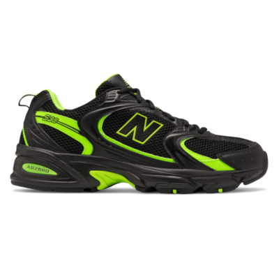 Herren New Balance 530 Black/Energy Lime