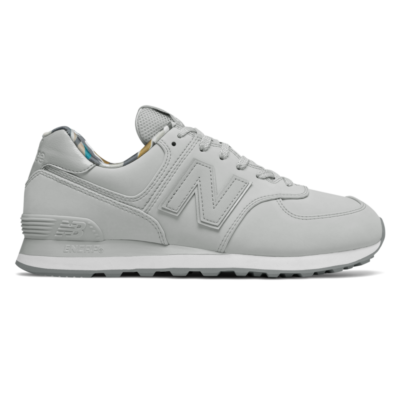 Herren New Balance 574 Light Aluminum/White ML574GYX