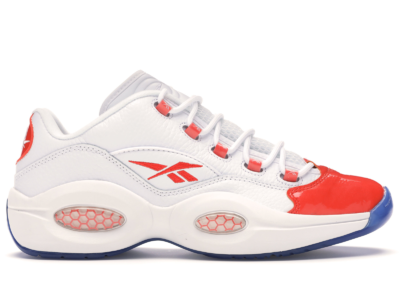 Reebok Question Low Schoenen White / Vivid Orange / Reebok Ice-A1 FX4999